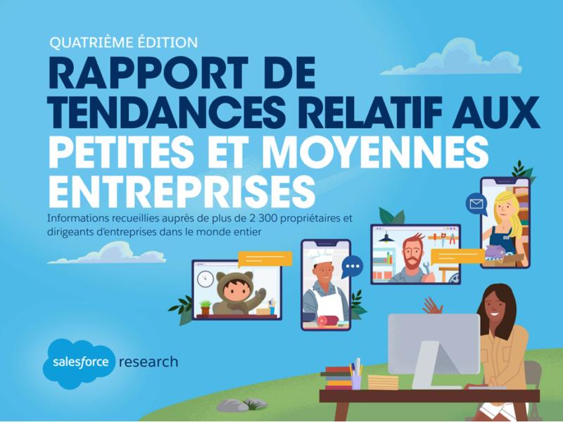 Le dernier rapport de SalesForce partage les tendances et les enjeux des PME pour 2021