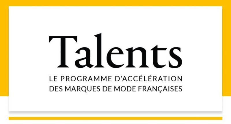 Quelles sont les marques sélectionnées  pour la prochaine promotion du programme Talents ?