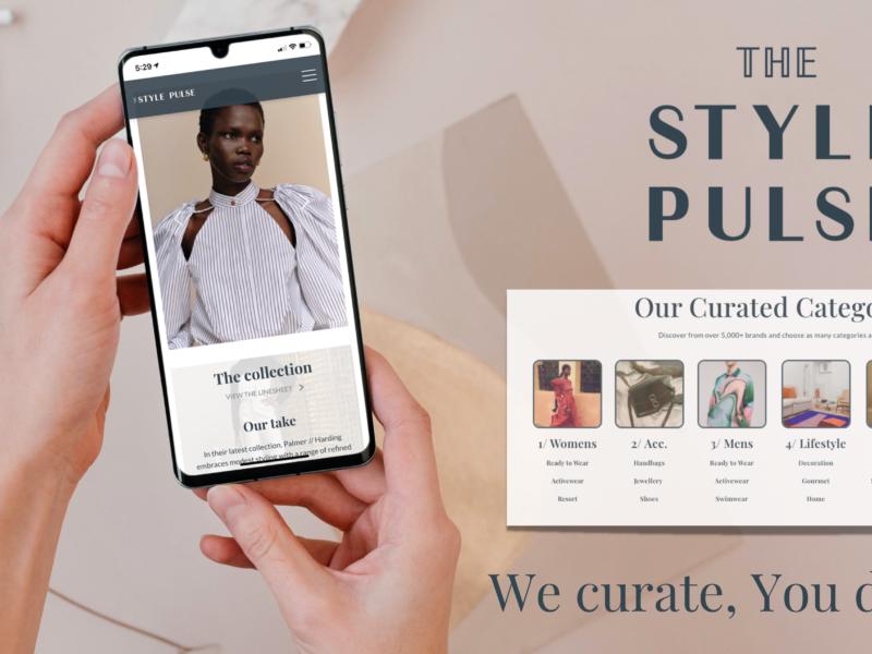 The Style Pulse : la plateforme BtoB qui sélectionne minutieusement les marques et les créateurs