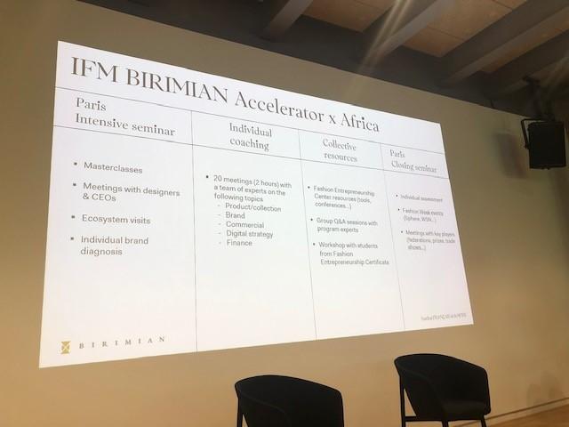 L'Institut Français de la Mode lance la première édition du programme IFM-Birimian Accelerator x Africa